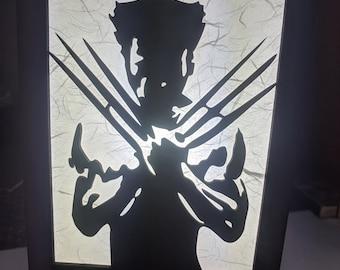Wolverine Inspired Lamp