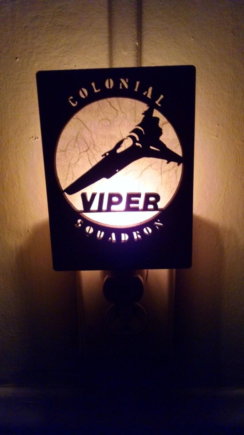 BattleStar Galactica Viper Squadron Night Light