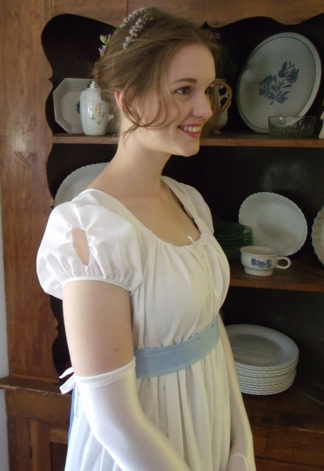Regency Ball Dress Gown Jane Austen Pride and Prejudice | Etsy