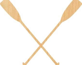 Wooden Oar 7cm Shape Art Projects Craft Wood Oars Decoration Gift Decoupage Ornament Unpainted MG000778
