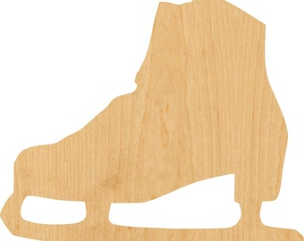 Wooden Ice Skates Etsy