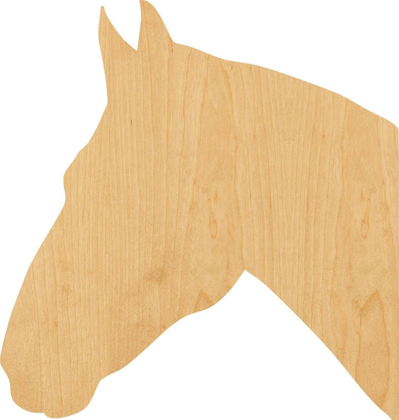 Hobbyist Great for Crafting Horse 2 Wooden Laser Cut Out Shape Projects D.I.Y