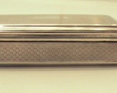 Vintage Antique Silver snuff box (19th Century)