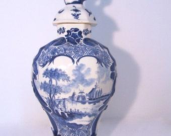 Vintage Ceramic vase + cap