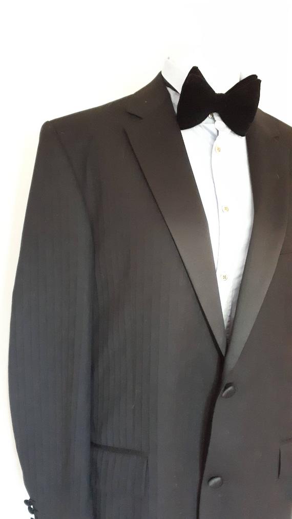 Vintage Joseph Bauer Men Tuxedo Jacket Mens Evening Dress Etsy