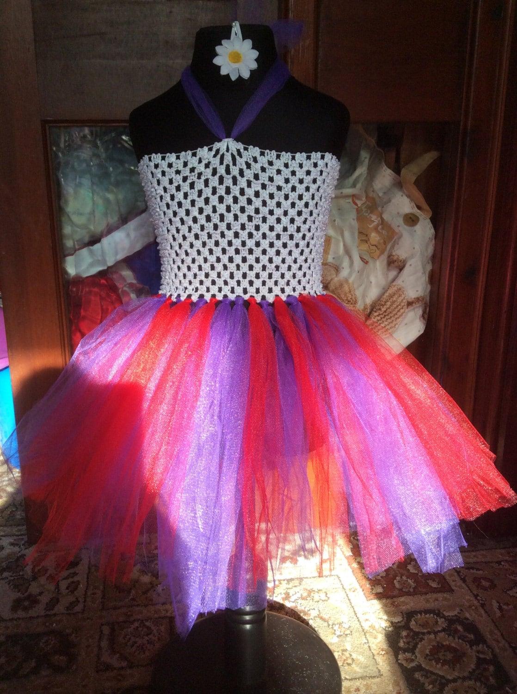 Handmade Gothic Harajuku Fashion W H Naoto Spiderweb Bag: Handmade Fairy Gothic Pagan Princess Tutu Pink And Purple
