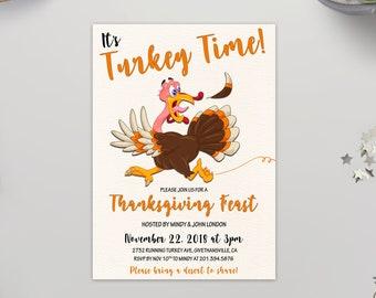 thanksgiving invitation printable thanksgiving dinner party etsy
