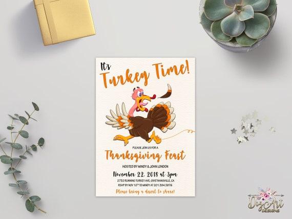 funny thanksgiving invitation printable thanksgiving dinner etsy