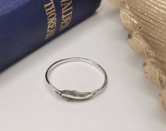Sterling Silver Ring Genuine Solid Hallmarked 925 Band Handmade R000692