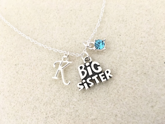 SALE Big Sister Necklace Personalized Gift For