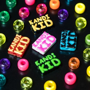 Good For Jewelry Beads Made In The USA Kandi Rave Bracelets PLUR Plastic Beads 10+ Pack