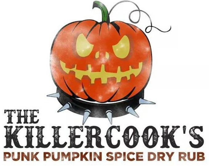 Featured listing image: The Killer Cook's Punk Rub Pumpkin Spice