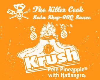 Pele Pineapple Krush with Habanero Polynesian BBQ sauce by The Killer Cook BBQ