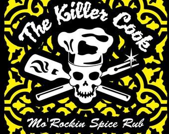 The Killer Cook's Mo Rockin Spice rub
