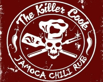 The Killer Cook's Jamoca Chili Rub