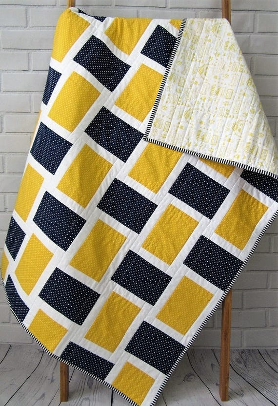 Basket Weave Quilt Pattern Easy Quilt Pattern Beginner Etsy Gorgeous Basket Weave Quilt Pattern