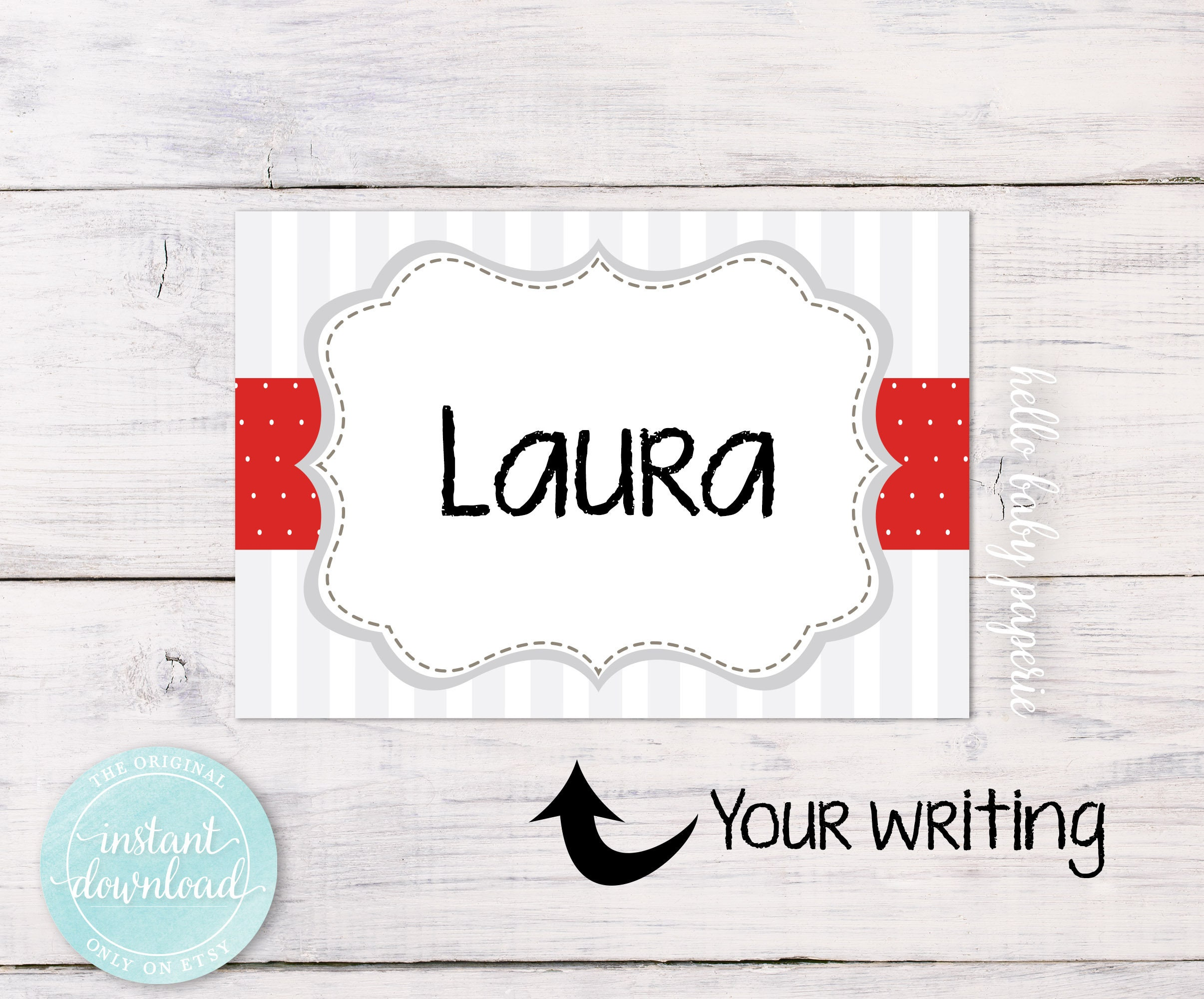 blank name tags guest name tags avery adhevsive baby etsy