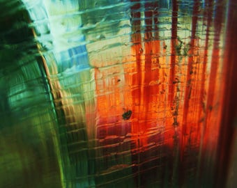 In Mysterious Hues: Metal Print Photograph