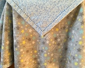 A Star is Born - Boy - Baby Toddler Self-Binding Flannel Blanket