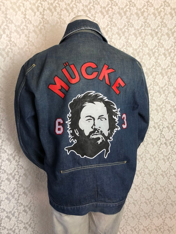 Pop Denim Jacket Buddy Handcrafted Bud Spencer Grxl