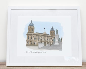 Queen Victoria Square Hull by Katie Duffett