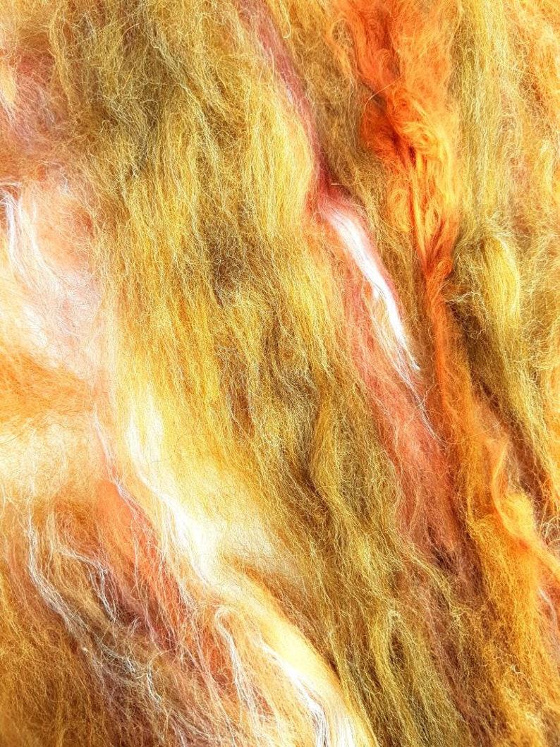 Brown Art Batt  24 Resurrection Pill  50g  Nut  Caramel  Cinnamon  Earth  Gradual Colour Change  Spinning Fibre  Wet Felting Batt