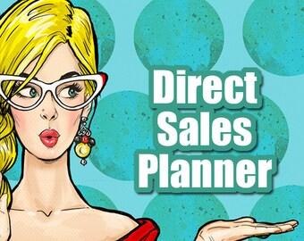 Direct Sales Planner | Direct Sales Planning, Planner for Direct Sales, MLM, Network Marketing, Direct Sales Marketing and Business Planner