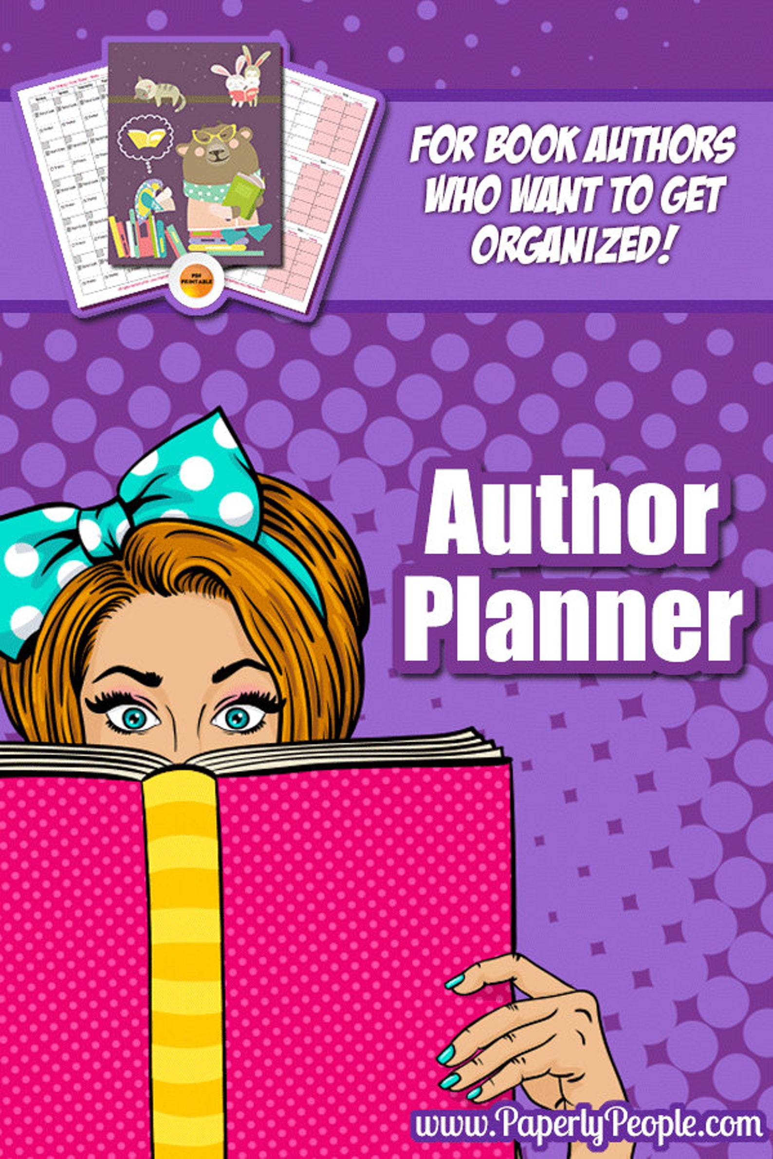 22 Page Writers Planner