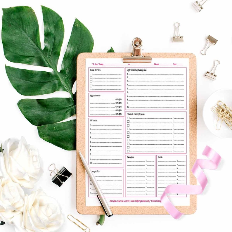 image relating to Daily Agenda known as Printable Each day Planner Web pages, Do it yourself Working day Planner, In direction of Do Record, Day by day Agenda, Every day Calendar, Each day Plan Web site ARC Planner, 3 Types , PDF
