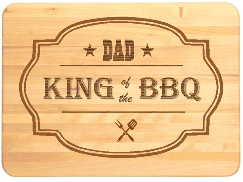 Cutting Board Engraved With Any Name Christmas Gift Party Gift for BBQ Birthday Cutting Board Personalised Wooden Chopping Board