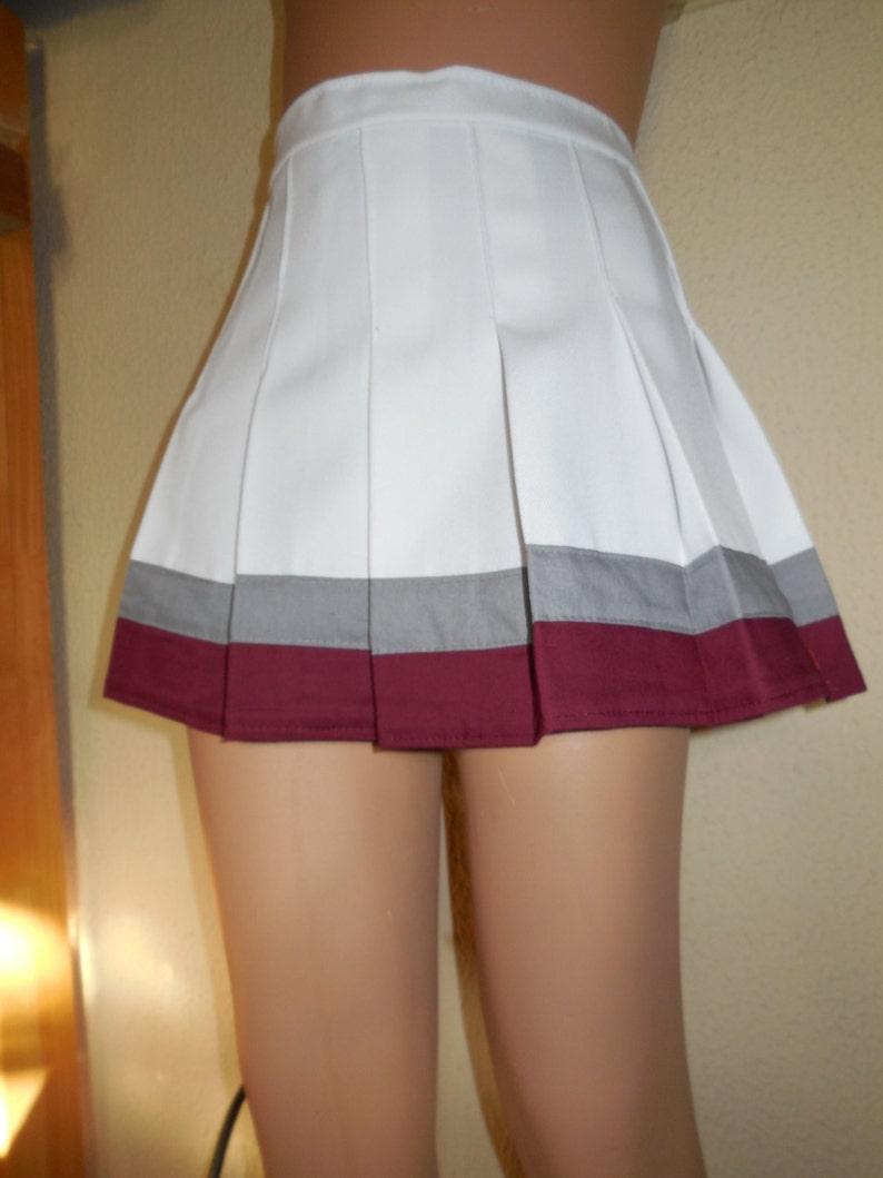 Save by the Bell Cheerleader Uniform Halloween Football Game Costume Skirt