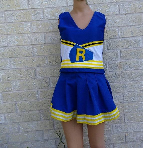 riverdale vixen blue kids adults cheerleader uniform fun