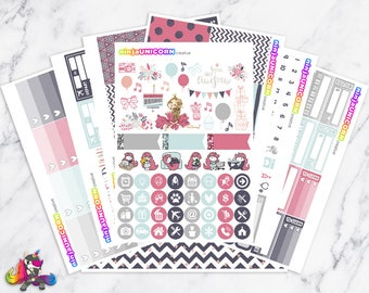 It's My Party || Planner Sticker Kit, Birthday, Party, Planner Stickers, Planner Kit, Birthday Stickers, Party Stickers