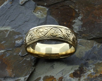 Western wedding rings | Etsy