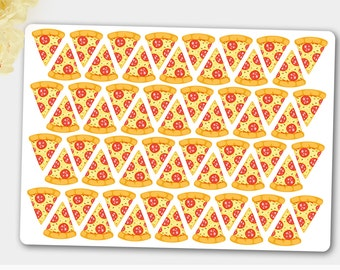 Food Stickers, Pizza Stickers, Pizza Planner Stickers,ECLP