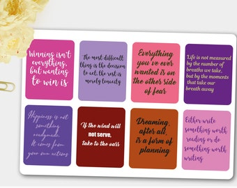Inspiration cite, Erin Condren, planificateur heureux citations, citations de Filofax, Agenda citations