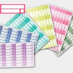 Skinny Bill Due  Stickers, Bill Due Planner Stickers,Bill Stickers, Bill Due Stickers for Erin Condren,Happy Planner Sticker,Finance Sticker