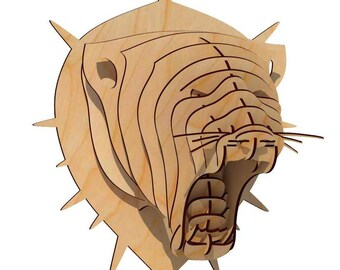 Panther head - Digital files