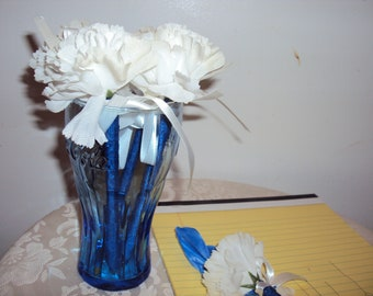 024 White Scented Flower Pens