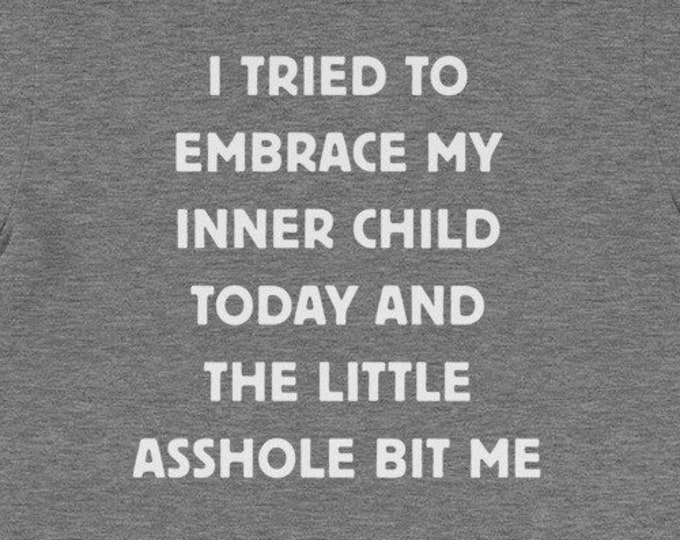 I Tried To Embrace My Inner Child funny christmas gift idea