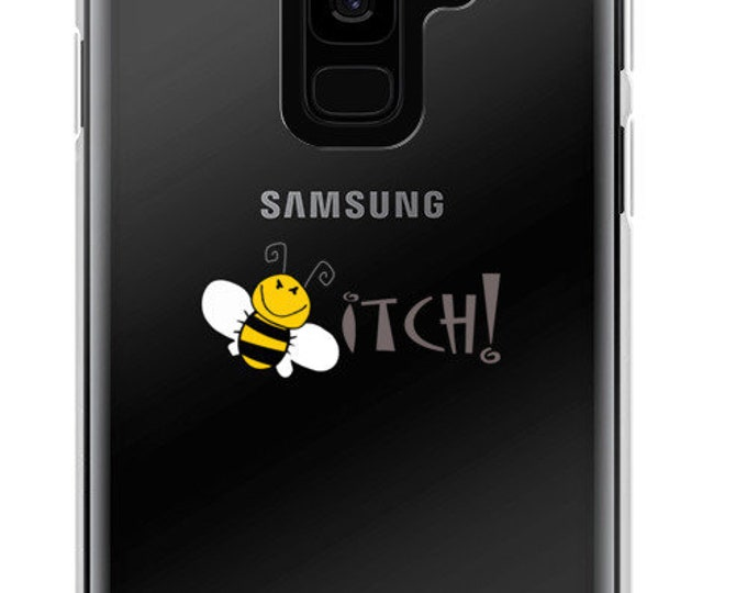 Bee with an itch - Samsung Galaxy case S7, S8, S9