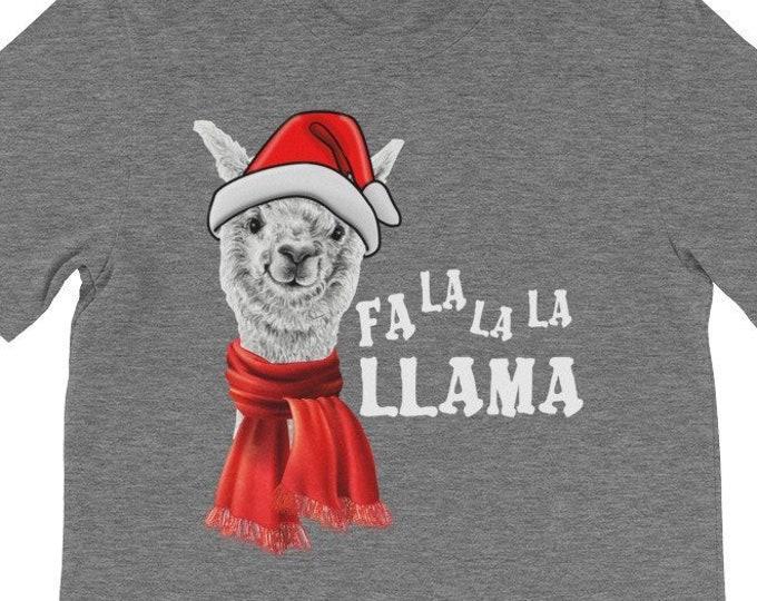 Fa La La La Llama funny Christmas gift idea for family
