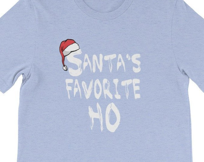 Santa's Favorite Ho T-Shirt Funny Christmas Gift Shirt
