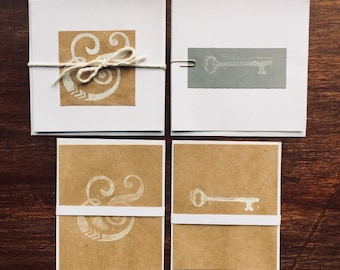Handmade greeting card assortment, handmade greeting cards, blank greeting cards