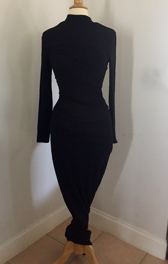Extremely Rare 1991 Vintage Dress Dolce&Gabbana s… - image 1