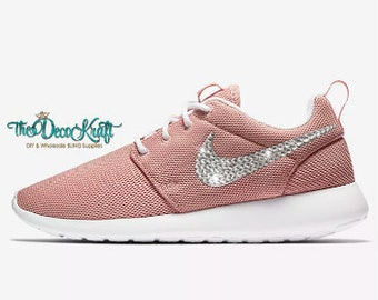 ce682150505dd uk roshe run coral bedazzled c4786 99611
