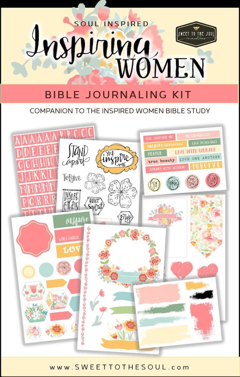Soul Inspired  Inspiring Women Bible Journaling image 0