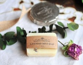 LAVENDER MINT SOAP Luxurious Herbal Soap Spa Gift Set