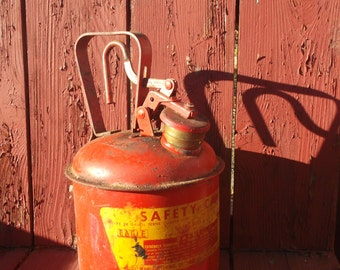Vintage Eagle 1 Gallon Safety Can - Gas Can