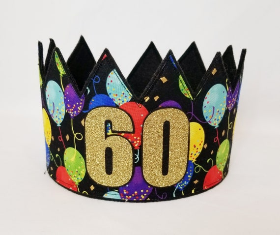 60 musical birthday hat